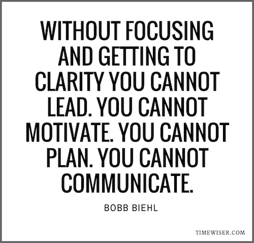 Focus Quotes 20 Leadership Quotes On Focus To Inspire You  Timewiser