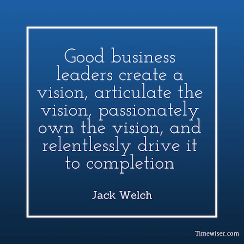Leadership quotes on focus - Jack Welch