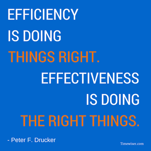 Leadership quotes on focus - Peter Drucker