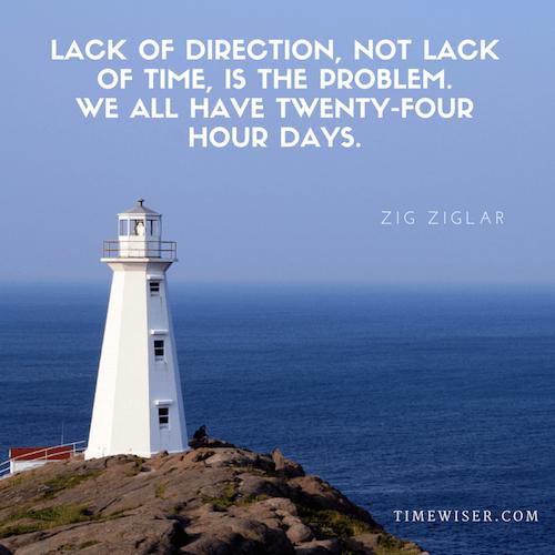Leadership quote on focus - Zig Ziglar
