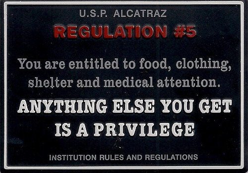 Your Highest Priorities in Life and Alcatraz Rule 5