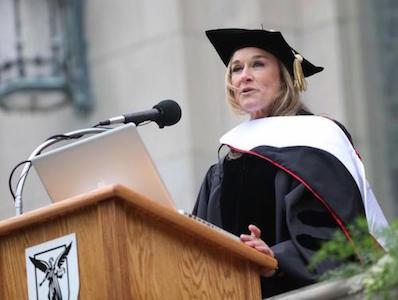 Angela Ahrendts Commencement Speech
